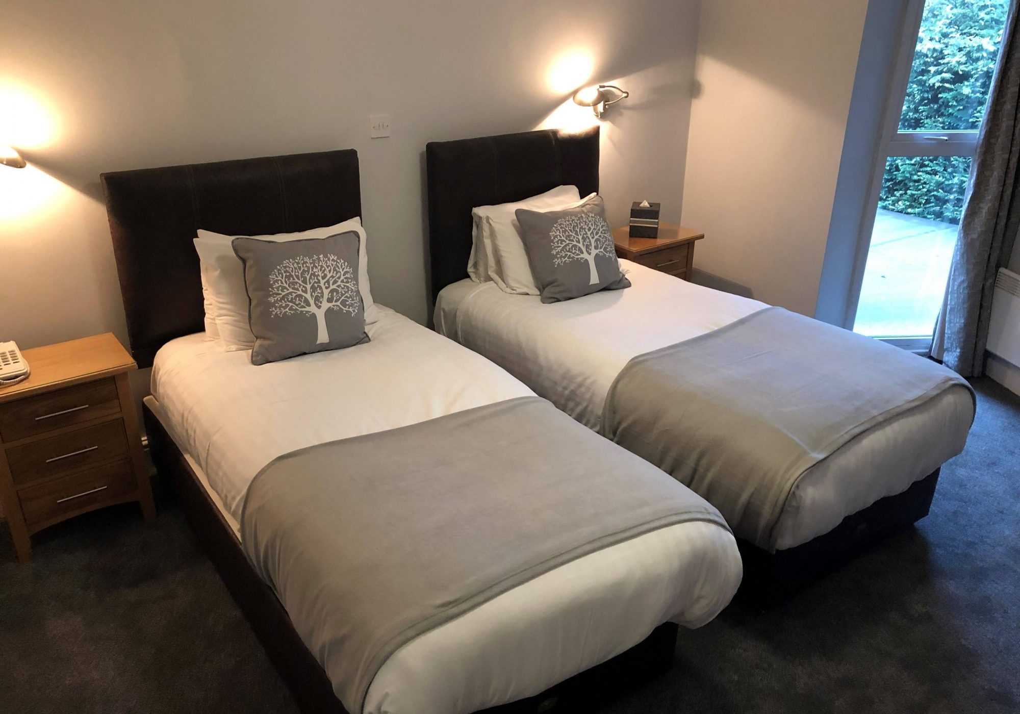 Standard Plus Double & Twin Rooms