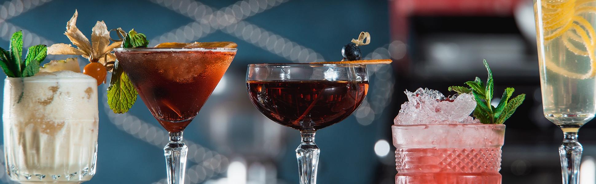 Wines, Spirits & Cocktails